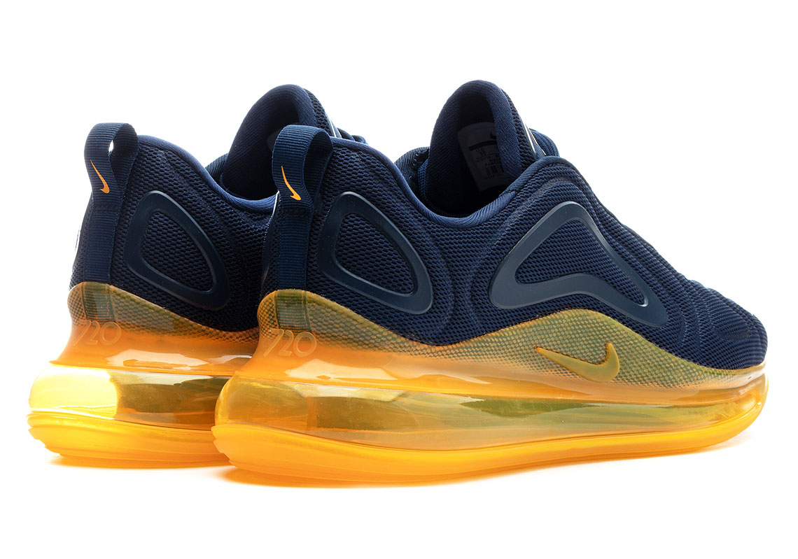 27c3efab Nike Air Max 720 Navy + Orange AO2924-401 Release Date | SneakerNews.com
