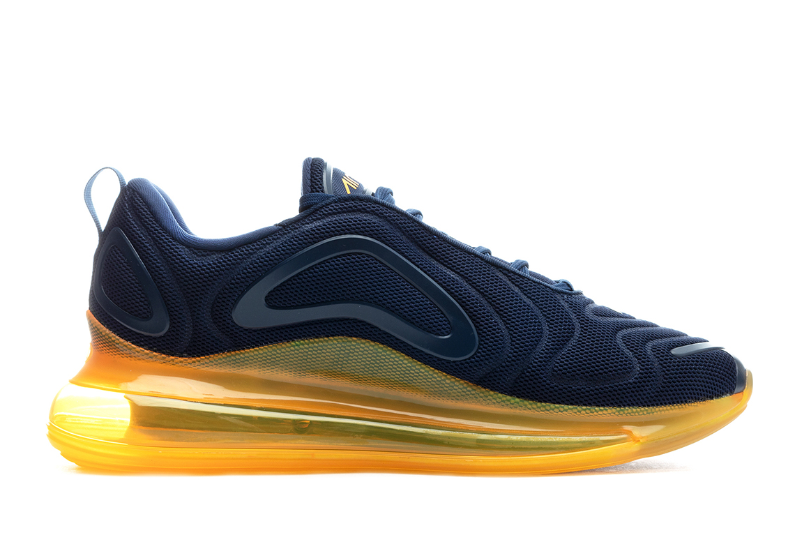 db9942ffda Nike Air Max 720 Navy + Orange AO2924-401 Release Date | SneakerNews.com
