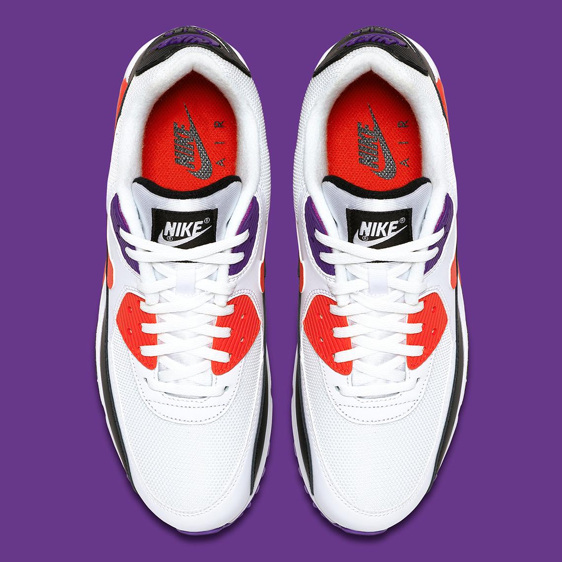 Zapatos NIKE Air Max 90 Essential AJ1285 106 WhiteRed