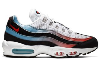 best sneakers 66d86 ad7e3 The Nike Air Max 95 Arrives In A Blue Fury And Red Gradient
