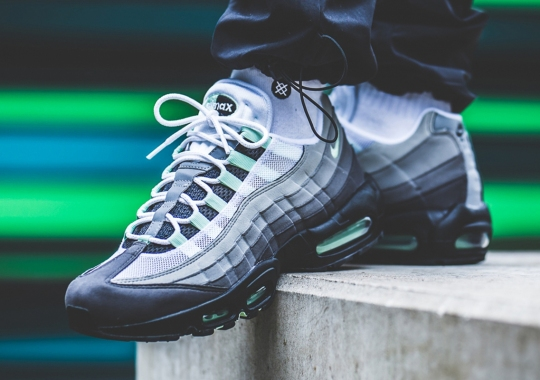 "Where To Buy The Nike Air Max 95 ""Fresh Mint"""