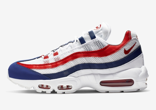 huge discount 5af5e 37ebd Get Patriotic With This Upcoming Nike Air Max 95 For Summer