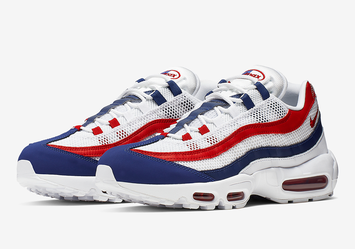 Nike Air Max 95 Red White Blue Cj9926 100 Release Info