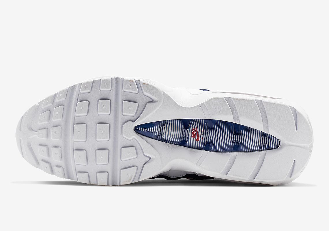 Nike Air Max 95 Red White Blue CJ9926 100 Release Info