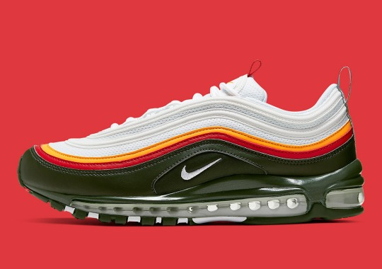 5181f4ac61c8 A Mix Of Ratatouille Colors Appears On The Nike Air Max 97