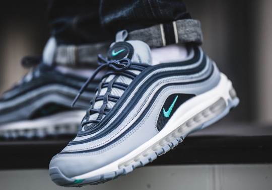 "The Nike Air Max 97 ""Monsoon Blue"" Is Available Now"