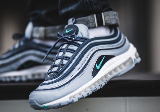 """new product 4baf7 7a8e1 The Nike Air Max 97 """"Monsoon Blue"""" Is Available Now"""