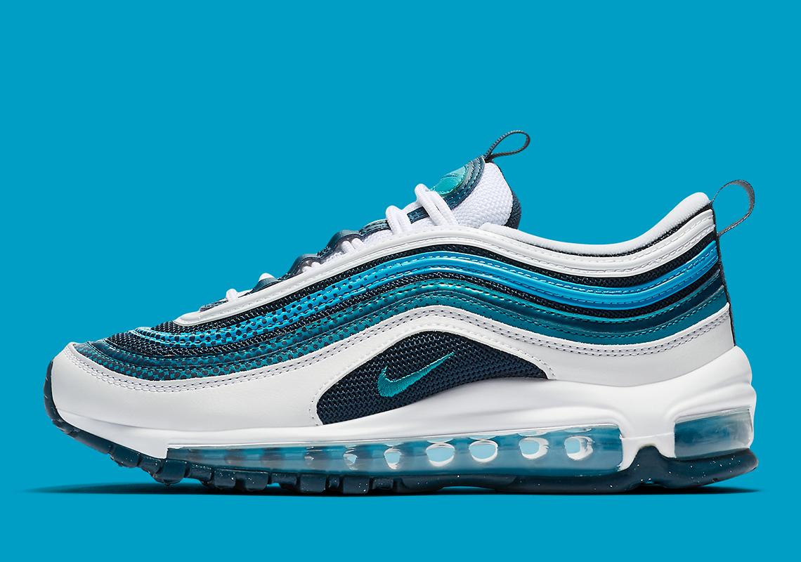 Nike Air Max 97 Rf Blue Teal Bv0050 100 Release Date Sneakernews Com