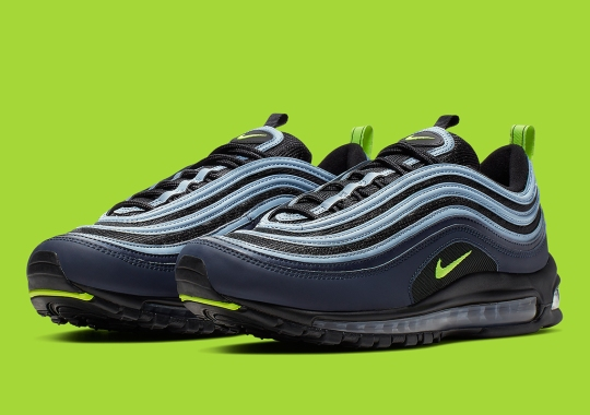 816d68469d79 Strong Seahawks Vibes Surface On This Nike Air Max 97