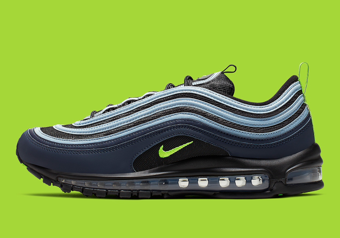 c88800912eee Nike Air Max 97  160. Color  Black Volt-Obsidian Style Code  CK0896-001