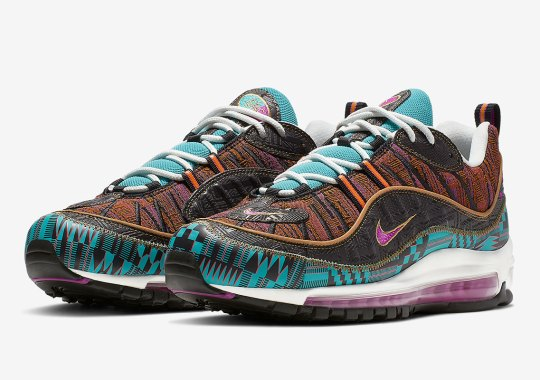 "designer fashion 0f0d8 7a812 Where Was This Nike Air Max 98 ""Black History Month"""