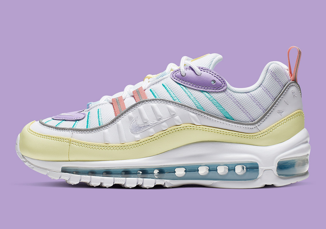 lower price with a few days away separation shoes Nike Air Max 98 Easter AH6799 300 Release Info | SneakerNews.com