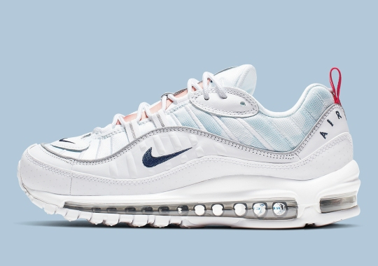 reputable site dadba ae1f3 French Themes Appear On The Nike Air Max 98 Premium