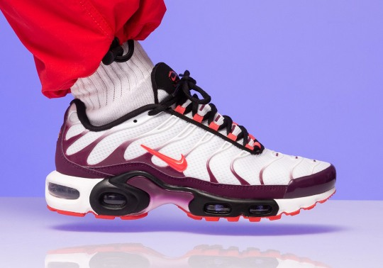Nike Adds A Sultry Bordeaux To The Air Max Plus