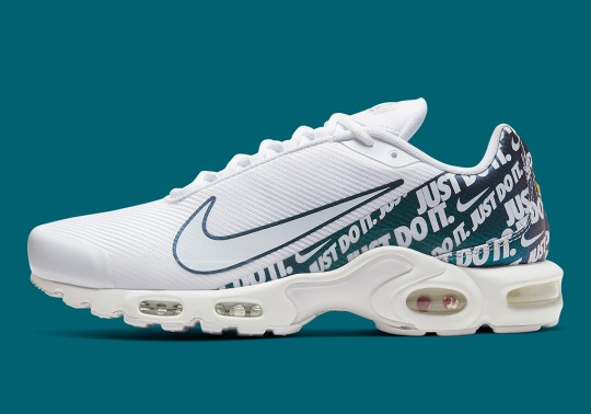 Nike Adds All-Over Just Do It Prints To The Air Max Plus