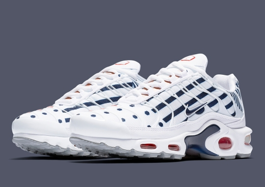 reputable site fa620 a338b Nike Adds The Air Max Plus To Their Slate Of France-Themed Releases