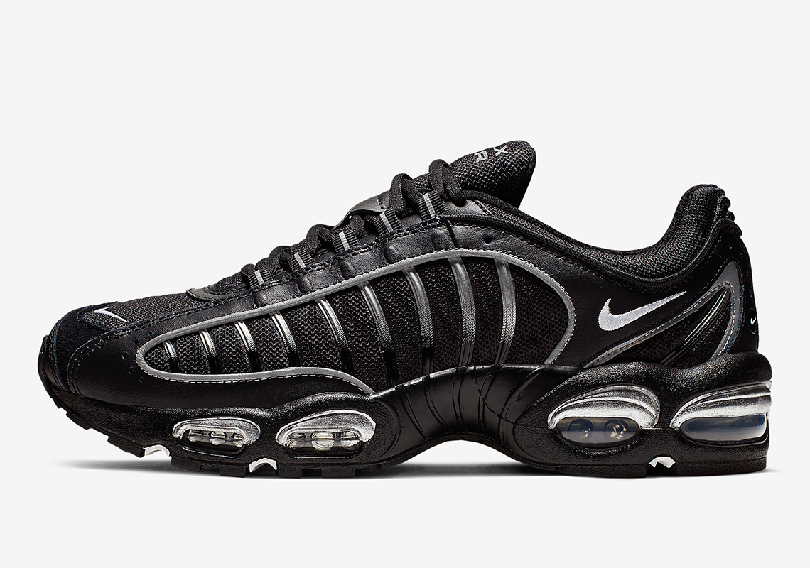 buy online 81f5c 0b109 The Nike Air Max Tailwind IV Emerges In Black And Silver