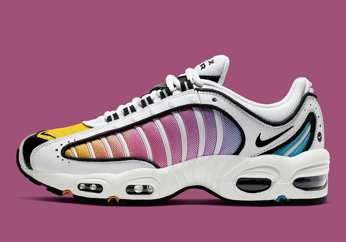 "super popular b906f dee56 Nike Air Max Tailwind IV ""Multi-Color"" For Women Features A Colorful  Gradient"