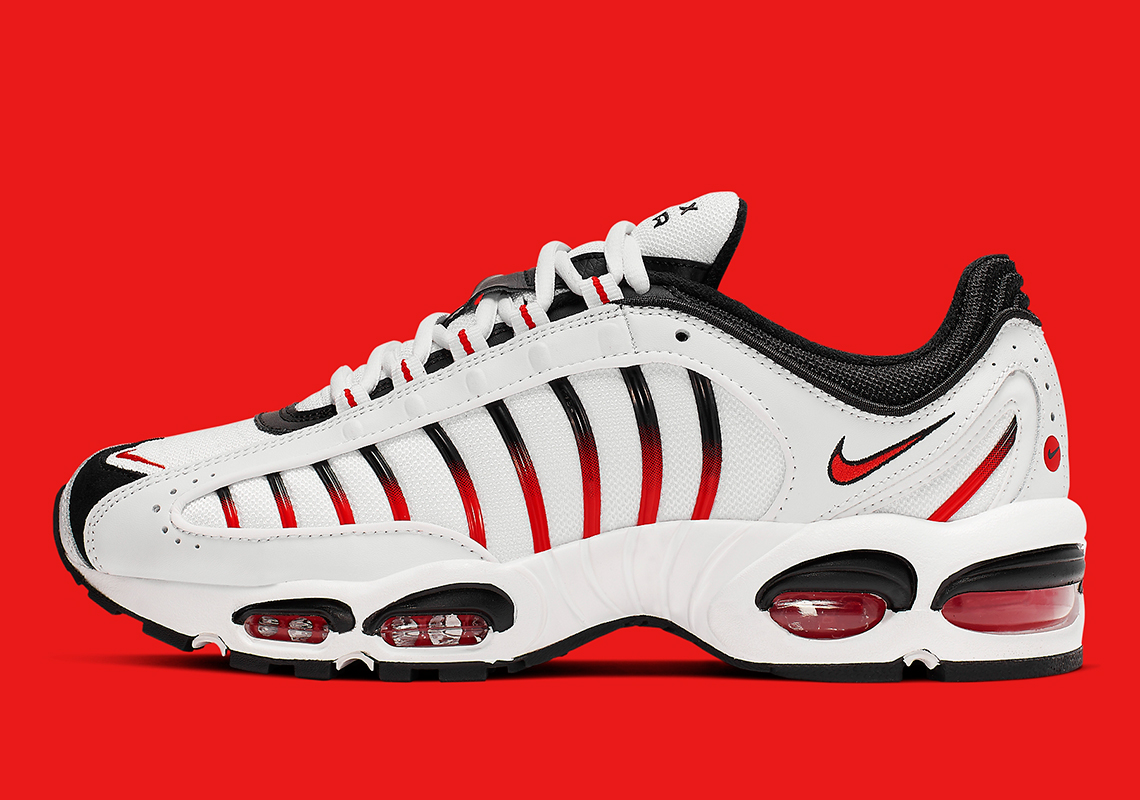 new products ef7a6 418a6 Classic Red And Black Are Coming To The Nike Air Max Tailwind IV