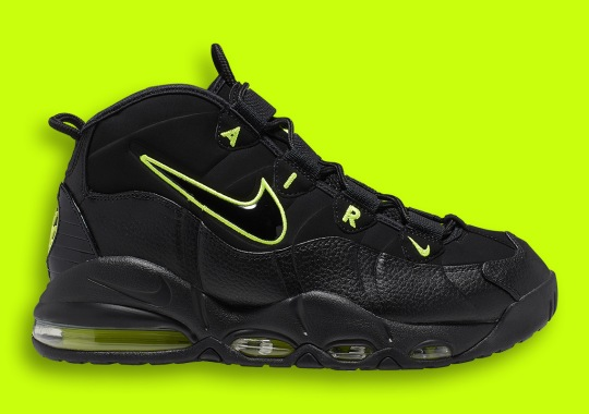 Nike Air Max Uptempo Is Arriving Soon In Black And Volt
