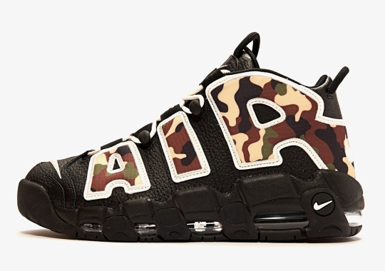 "online store 64d18 bcacc The Nike Air More Uptempo ""Camo"" Releases On June 19th"