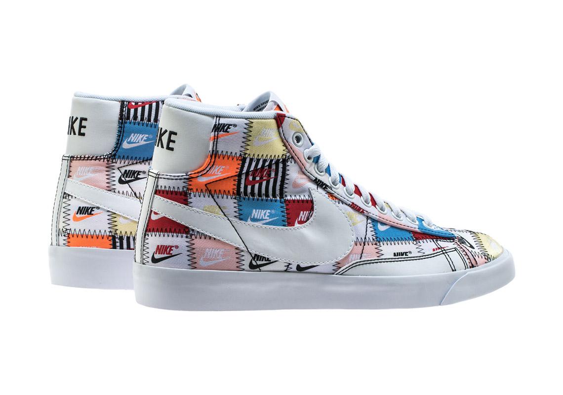 Nike Blazer Mid Low Patchwork Pack