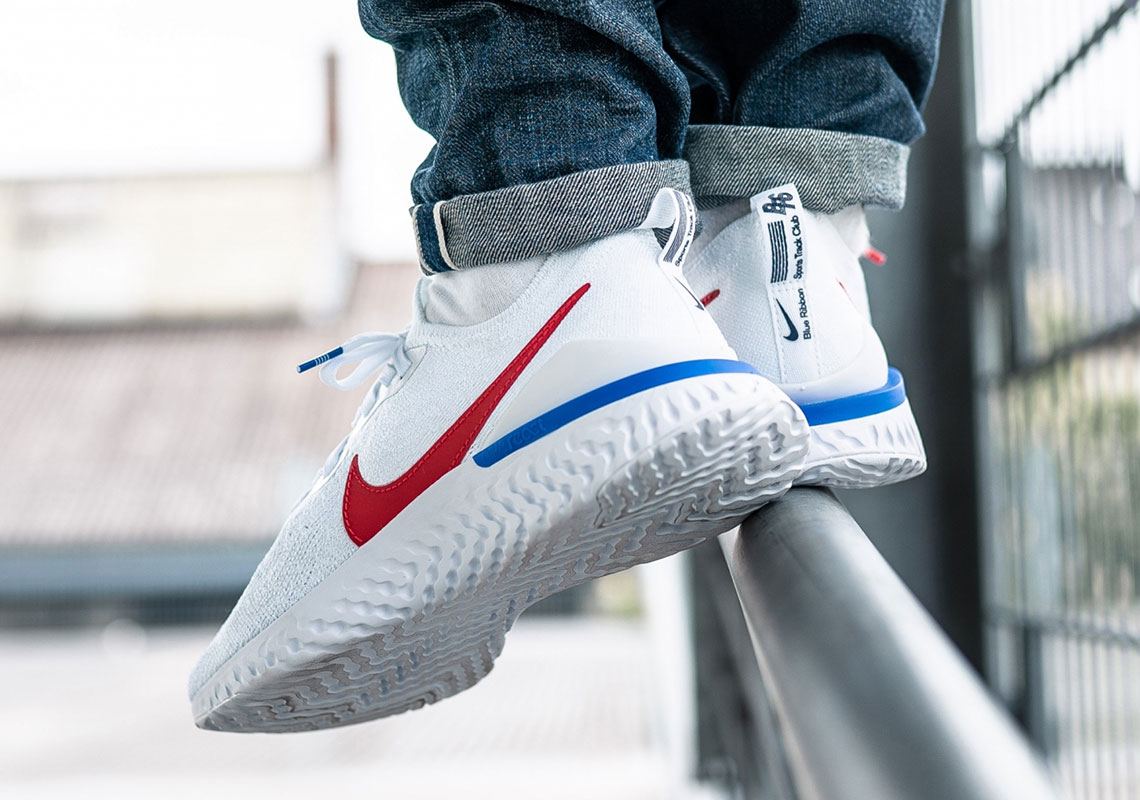 Nike Epic React Flyknit 2 Cortez CJ8295-100 | SneakerNews.com
