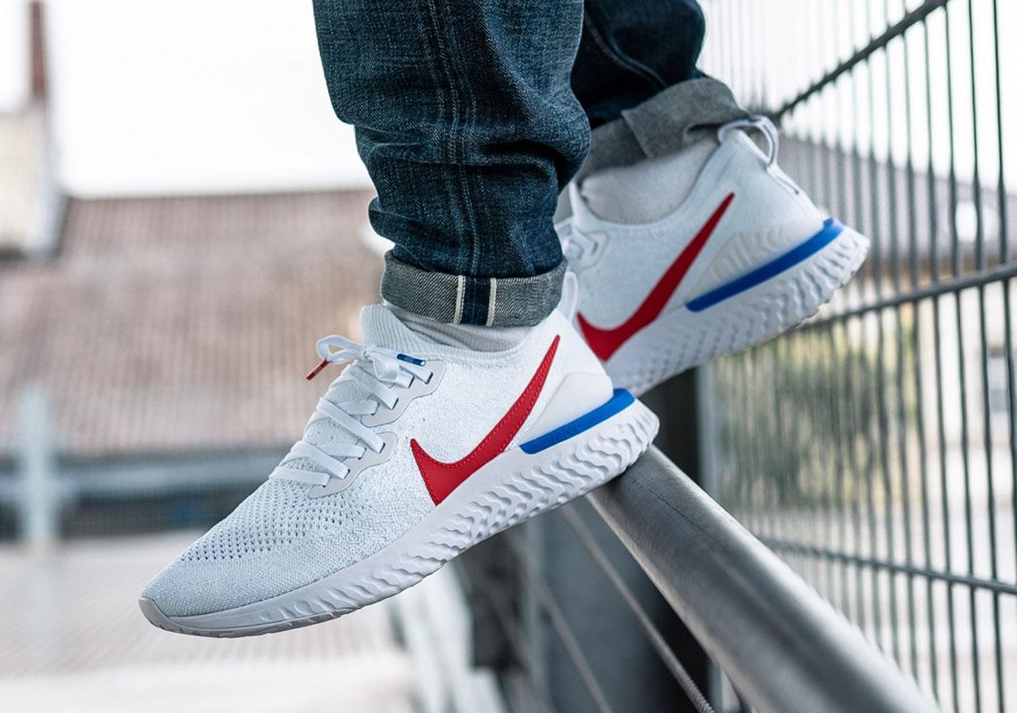 Nike Epic React Flyknit 2 Cortez Cj8295 100 Sneakernews Com