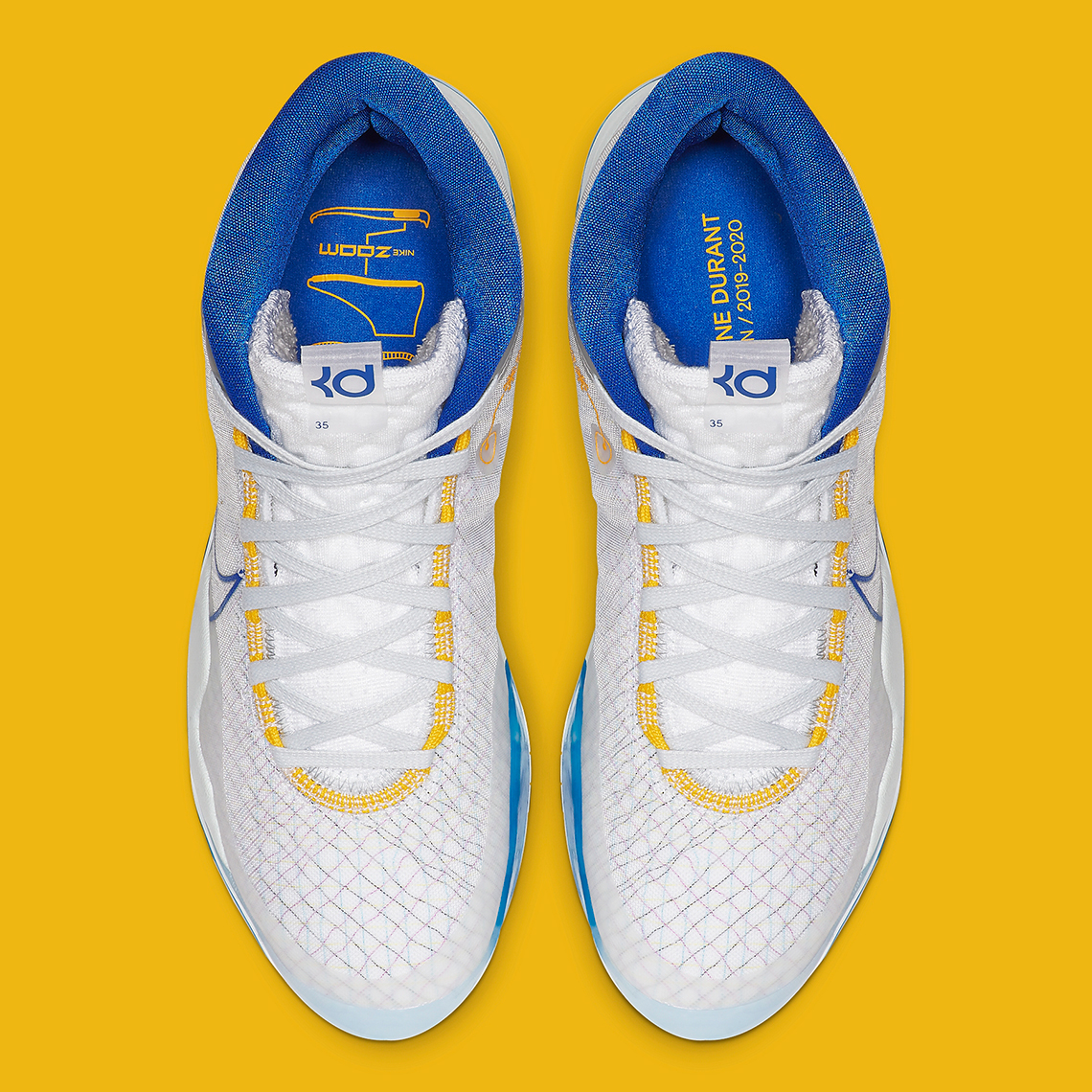"""online store 4ff1d 7f12e The Nike KD 12 Appears In A """"Dub Nation"""" Colorway As ..."""