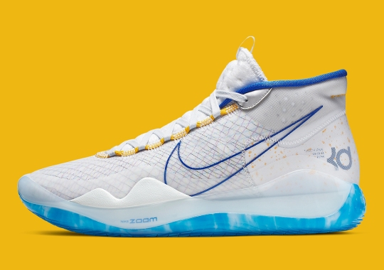 "The Nike KD 12 Appears In A ""Dub Nation"" Colorway As Warriors Take 2-0 Lead"