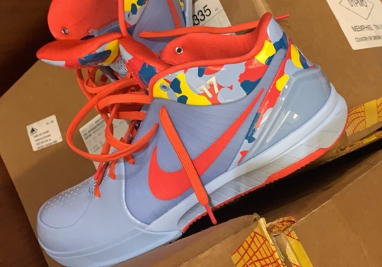 PJ Tucker Shows Off A Colorful Camo Nike Kobe 4 Protro PE