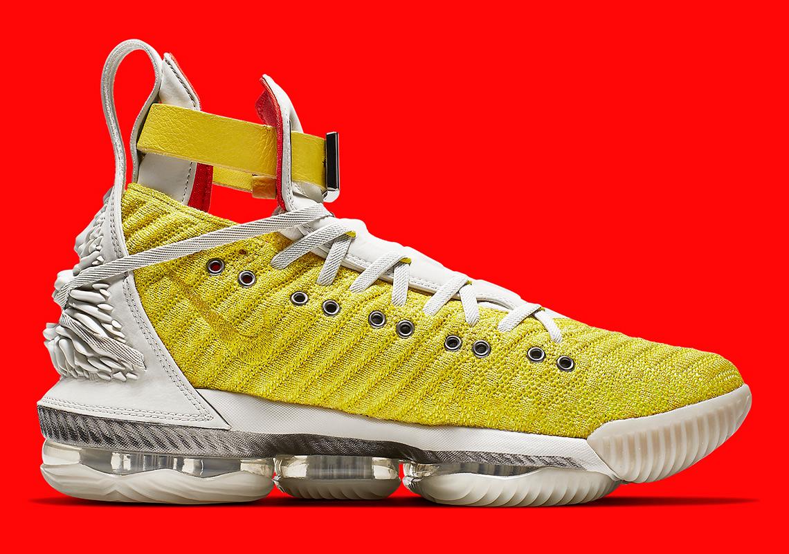 save off 79503 7898d Harlem Fashion Row Nike LeBron 16 HFR Bright Citron ...