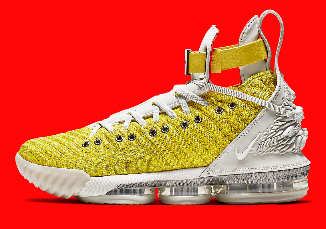 online retailer fc3b2 99737 Harlem Fashion Row Nike LeBron 16 HFR Bright Citron   SneakerNews.com