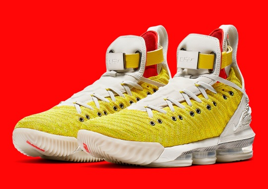 "8fdfed8a2198c Harlem s Fashion Row And Nike Revisit LeBron 16 Collaboration With ""Bright  Citron"""