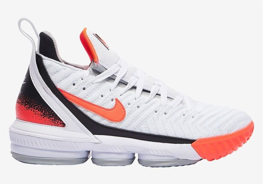 """Nike LeBron 16 """"Hot Lava"""" Inspired By The Air Tech Challenge II"""