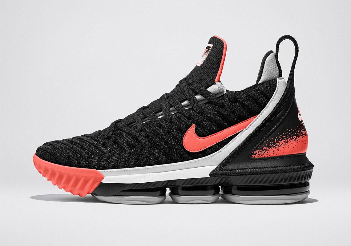Nike LeBron 16 Hot Lava - Release Date