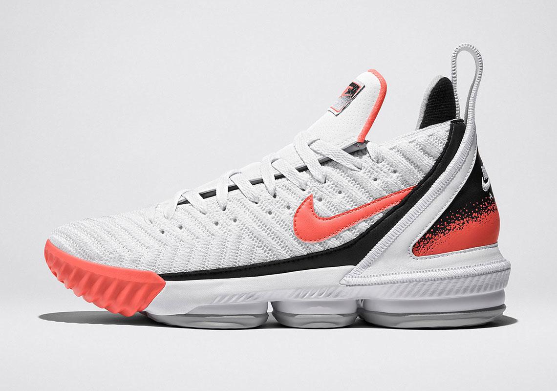 Nike LeBron 16 Hot Lava - Release Date + Store List ...