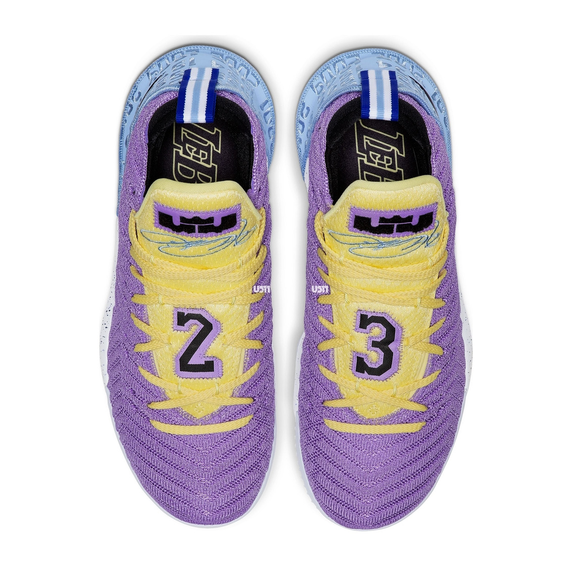 01a485b59fb9 Nike LeBron 16 Lakers Championships CK4765-500