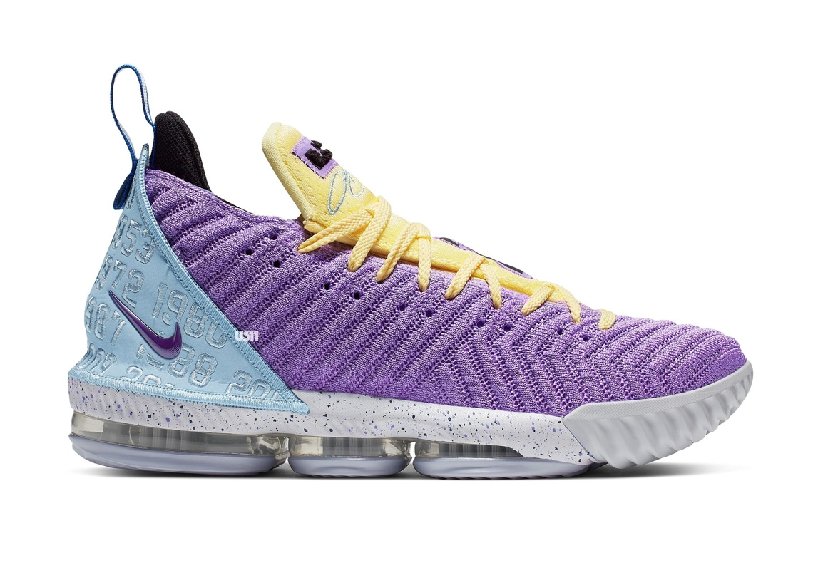 best service 65d2a e8a79 Nike LeBron 16 Lakers Championships CK4765-500   SneakerNews.com