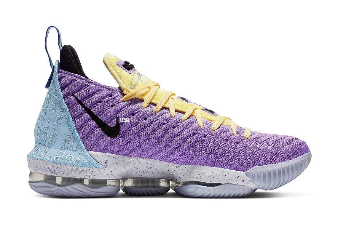 Nike Lebron 16 Lakers Championships Ck4765 500