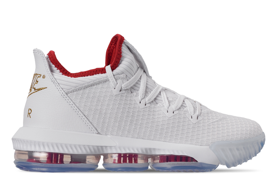 38070b74936b Nike LeBron 16 Low NBA Draft CI2668-100 Release Date
