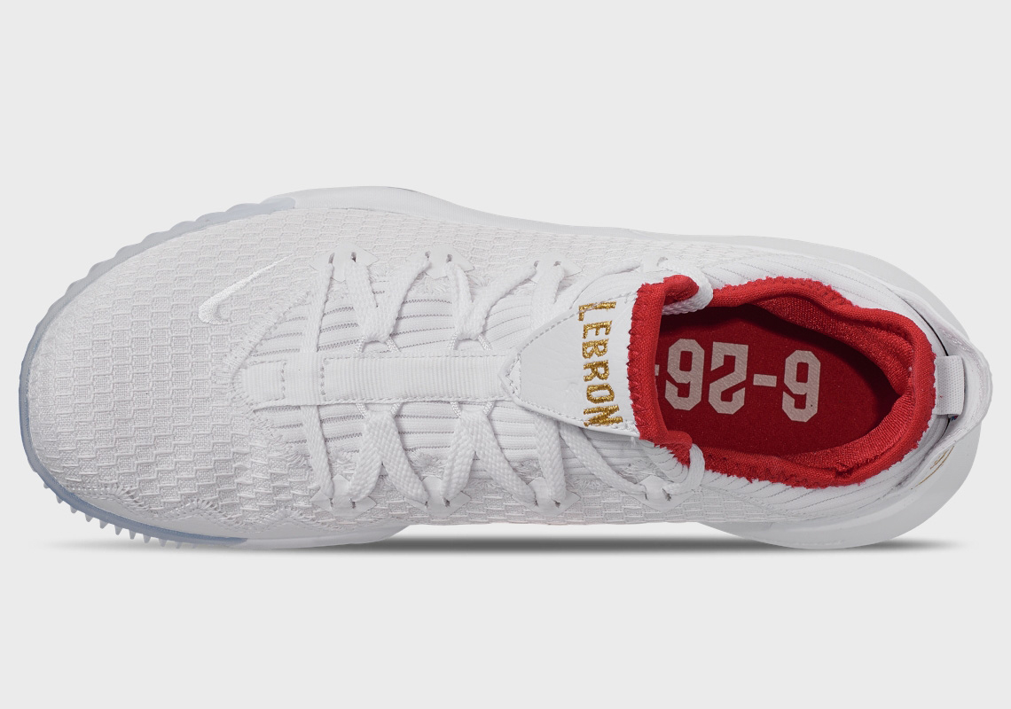 0ac06659000c This LeBron 16 Low Remembers the Night LeBron Got Drafted. Kicks logo