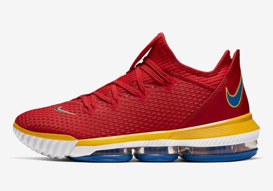 """Nike LeBron 16 Low """"SuperBron"""" To Release This Month"""