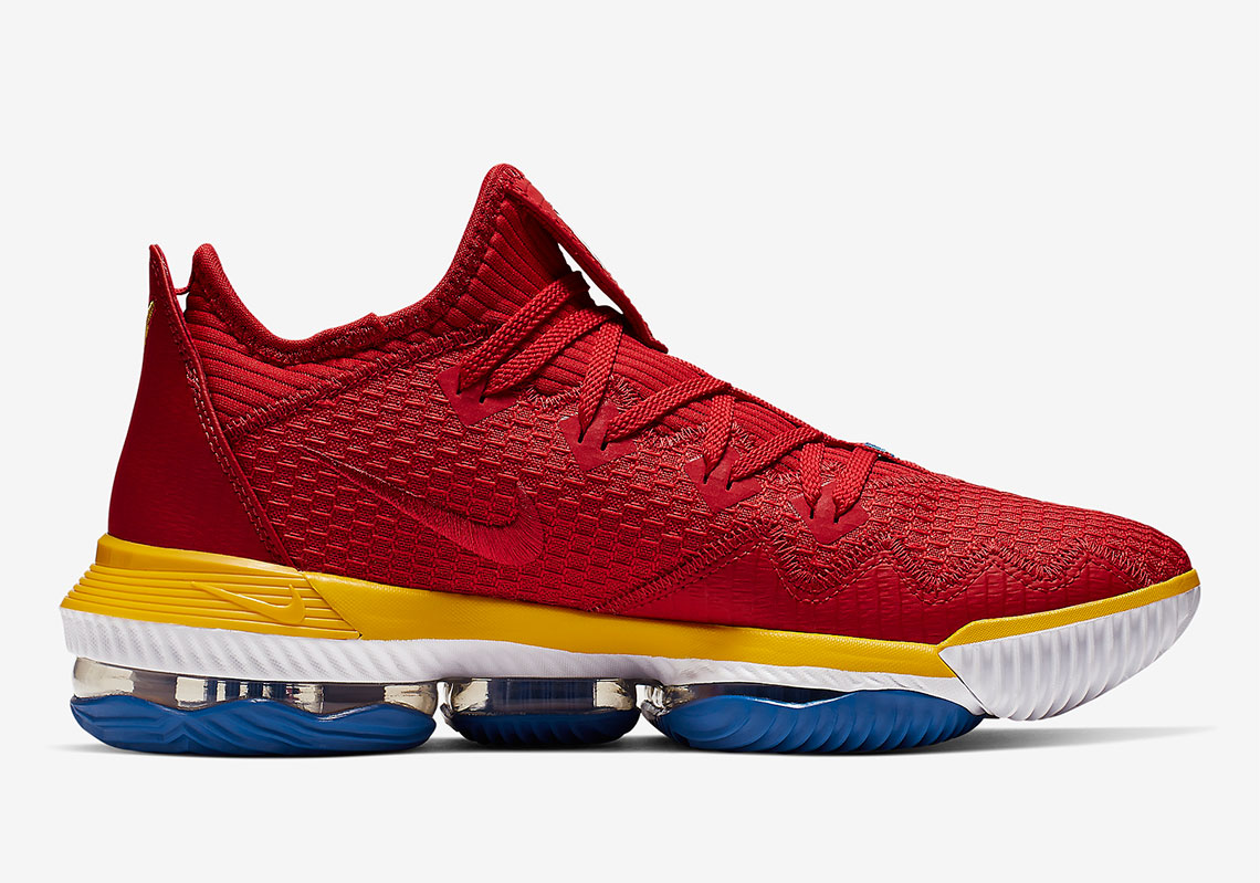 "Nike LeBron 16 Low ""SuperBron"" Drops This Month: Official Images"