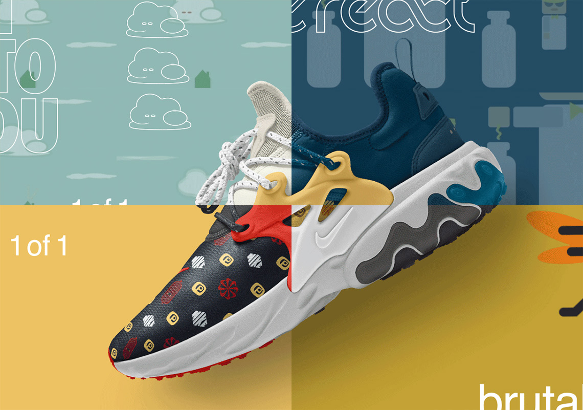 7652bf2d556 Nike React Presto Premium By You Is Available Now