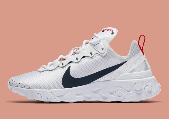 French Vibes On The Nike React Element 55 Premium