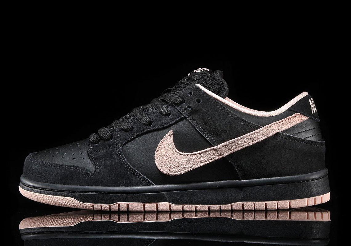 Nike SB Dunk Low Black Washed Coral