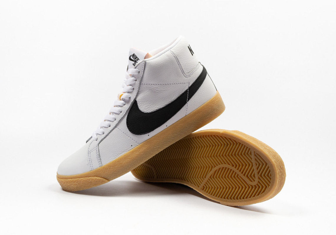 38b92072987f7 The Nike SB Orange Label Collection Releases A Smooth Gum Sole Blazer