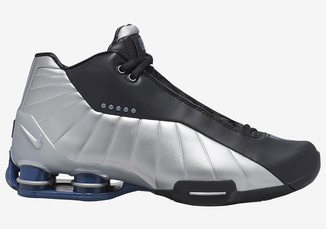 new style 0a615 aaf6b Nike Shox BB4 Release Date  June 29th, 2019. Color  White Metallic  Silver-Midnight Navy. Advertisement. Nike Shox BB4