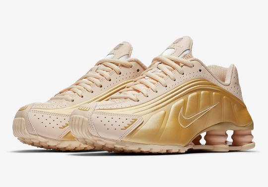 """Nike Shox R4 Styles Up With """"Guava Ice"""" For Women"""